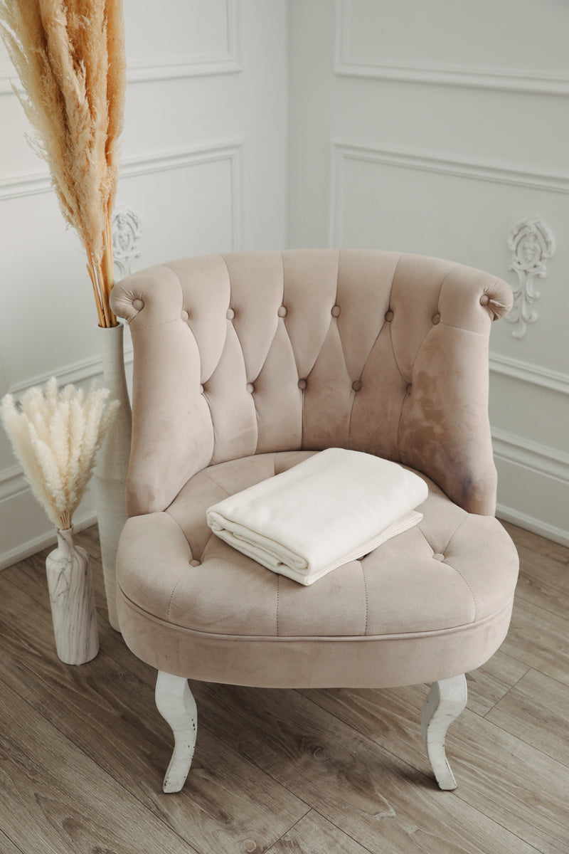 Cashmere Blanket - Cream