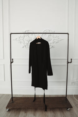 Cashmere Robe - Black