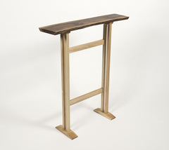 Seira Table-Walnut and Maple