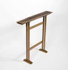 Serira Table-Walnut and Cherry