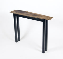 ANIMA Table-Walnut and ebonized ash