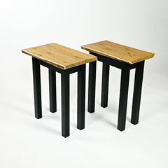 Butternut End Tables