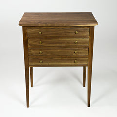 BREVIS JEWELLERY CABINET-Walnut
