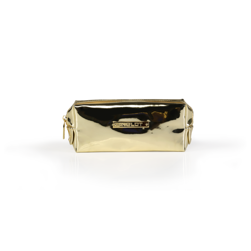 COSMETIC BAG MIRROR LIGHT GOLD (R24459C) - INGLOT Puerto Rico