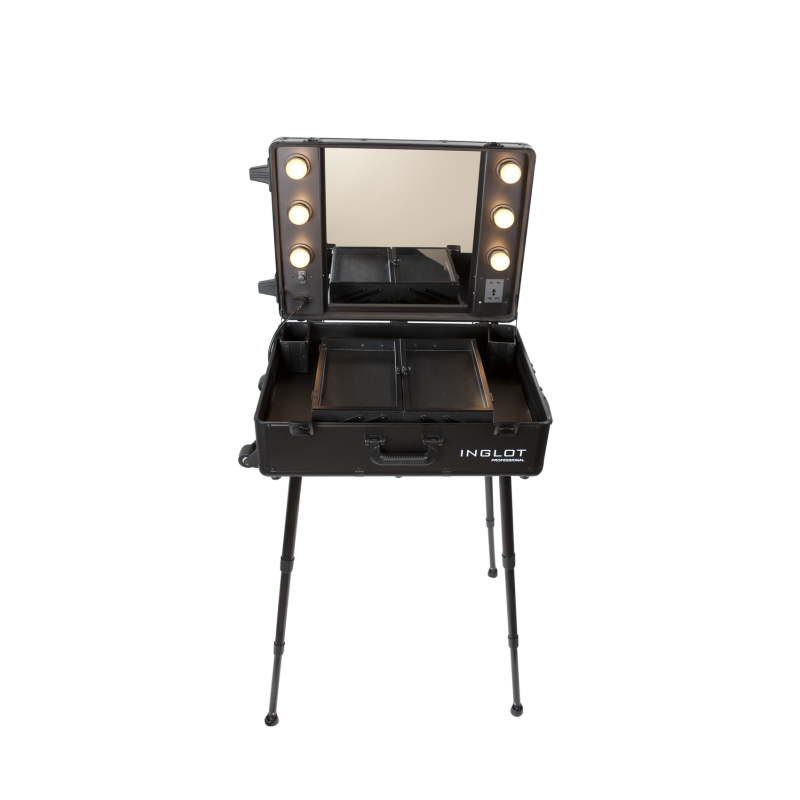 PORTABLE LIGHTED MAKEUP STATION BLUE - INGLOT Puerto Rico