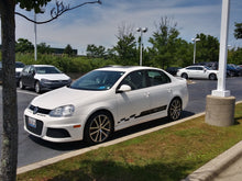 Load image into Gallery viewer, Volkswagen jetta tdi cup edition lower door decal set 2 color combo 2pcs