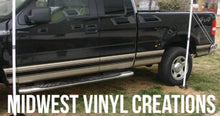 Load image into Gallery viewer, Ford truck f150 250 350 rocker stripe decal set plus free gift