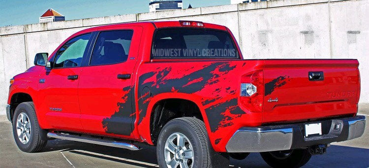 2012-2019 Toyota Tacoma full truck body decal kit