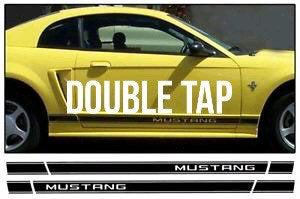 1950-2019 for mustang all models lower side stripe decal set