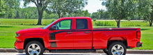 Load image into Gallery viewer, 2016-2018 silverado special edition racing rally side stripe set and also hood rally set