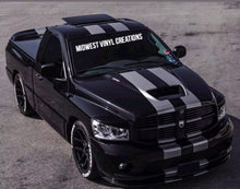 Load image into Gallery viewer, 1950-2019 Dodge Ram 1500 2500 3500 Racing Stripe Decal Sticker set plus free gift