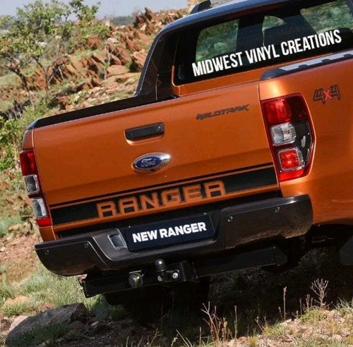 All year ford ranger tailgate decal
