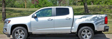 Load image into Gallery viewer, 2015-up chevy colorado rear truck bed splat decal set kit many colors available