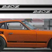 Load image into Gallery viewer, Datsun 240z 260z 280z lower side decal kit many colors available.