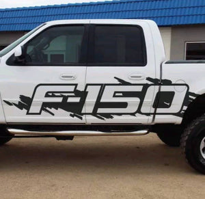 All years ford f150 large body side decal kit.many colors available