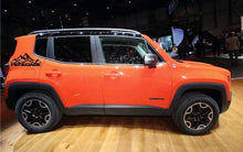 Load image into Gallery viewer, Jeep renegade rear panel logo decal set kit. Many colors available