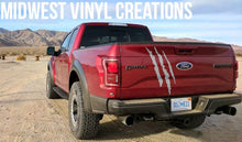 Load image into Gallery viewer, 2012-upFord F-150 raptor lower door raptor set plus  tailgate raptor claw shread. 3pcs