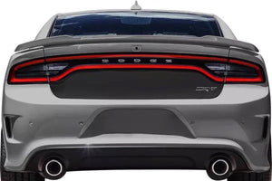2015-2018 Dodge Charger rear center blackout decal insert