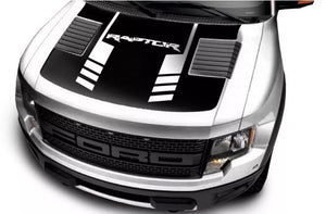 2010-2014 Ford F-150 ford Raptor terminator hood decal