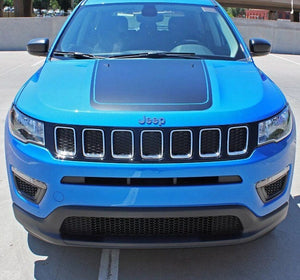 2017-2018 Jeep Compass hood blackout decal
