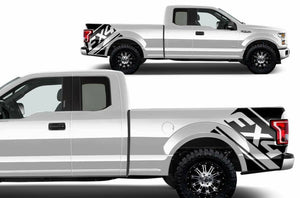 2007-2019 Ford F-150 FX4 truck bed decal set many colors available. Custom made for your year truck