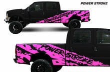 Load image into Gallery viewer, Ford powerstroke side body decal set kit
