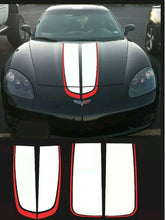 Load image into Gallery viewer, Chevy corvette 2 color racing stripe de al kit many color combo available
