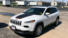 Load image into Gallery viewer, 2014-2019 jeep cherokee trailhawk hood decal kits.