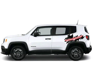 All year jeep renegade trailhawk rear side body decal kit many colors available