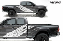 Load image into Gallery viewer, Toyota Tacoma TRD side body decal set.