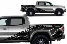 Load image into Gallery viewer, Toyota tacoma shreader trd decal set kit custom cut for all years.