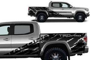 Toyota tacoma shreader trd decal set kit custom cut for all years.