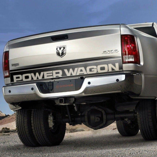 Dodge Ram power wagon tailgate decal kit for all models and years.