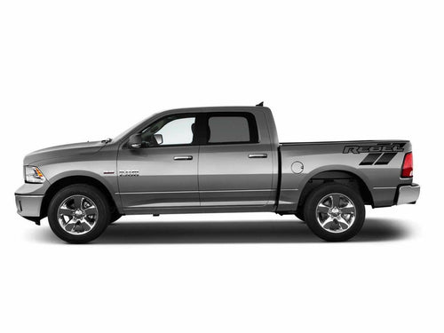Dodge Ram rebel 1500 2500 3500 rebel trk bed corner custom rebel decal kits. Many colors available