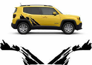 2015-2019 jeep renegade side decal set kit.