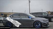 Load image into Gallery viewer, Subaru wrx sti side body rear decal set kits available in many colors.