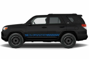 Toyota 4 runner lower side stripe decal kits