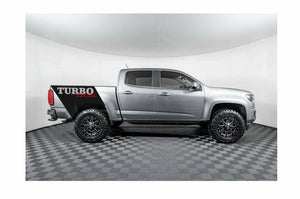 2019-up Chevy Colorado diesel truck bed turbo diesel custom stripe 2 color combo decal set.