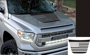 toyota tundra flag hood decal kit