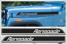 Load image into Gallery viewer, Jeep renegade hood decal kits