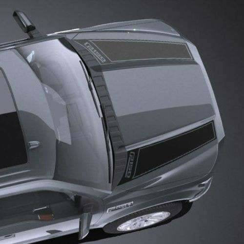 Ford raptor f150 hood stripe decal set