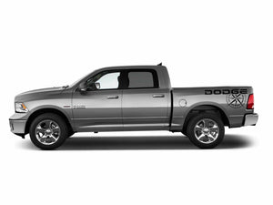 Dodge ram trucks 1500 2500 3500 rebel power wagon trk bed compas decal kits. Many colors available.