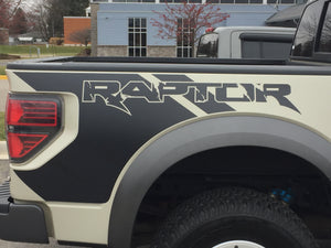 2010-2018 Ford F-150 raptor truck bed and hood decal set