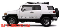 Load image into Gallery viewer, Toyota FJ Cruiser Side Decal Kit all year Cruiser