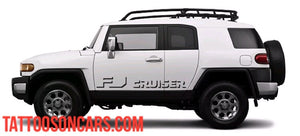 Toyota FJ Cruiser Side Decal Kit all year Cruiser