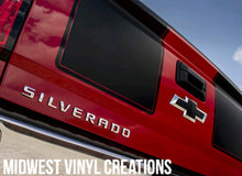 Load image into Gallery viewer, 1950-2018 Chevrolet chevy Silverado 1500 2500 3500 v8 v6 vinyl decal racing stripe set plus free gift