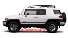 Load image into Gallery viewer, Toyota FJ Cruiser lower Side Decal Kit for all year Cruisers