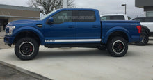Load image into Gallery viewer, Ford F-150 shelby edition Racing Stripe Decal set and lower Side Stripe Decal Kit