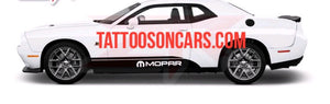 Dodge Challenger mooar lower decal set plus free gift