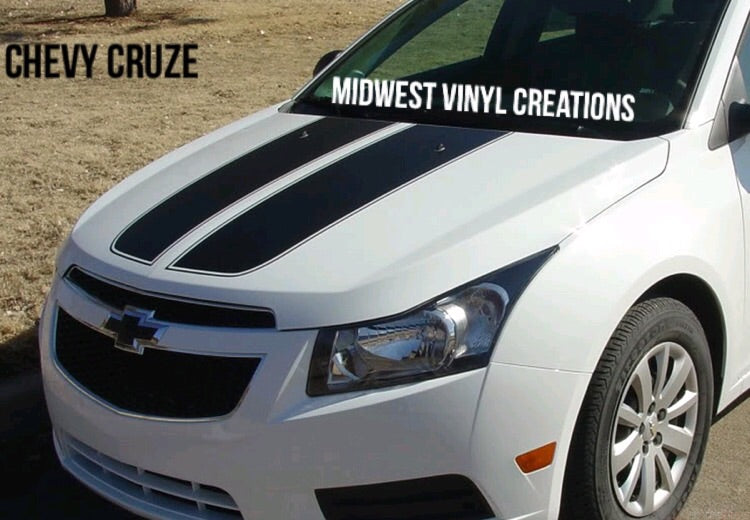 Chevy Cruze Racing Stripe Decal set